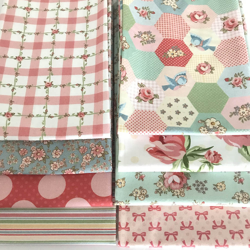 Dots and Posies Fabric Line by Poppie Cotton